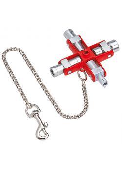 Universal avain - pituus 90 mm - kaikkien standardi telineeseen