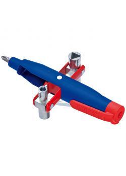 Stift-Schaltschrank-Schlüssel - 145 mm - Bitaufnahme und Kreuzschlitz