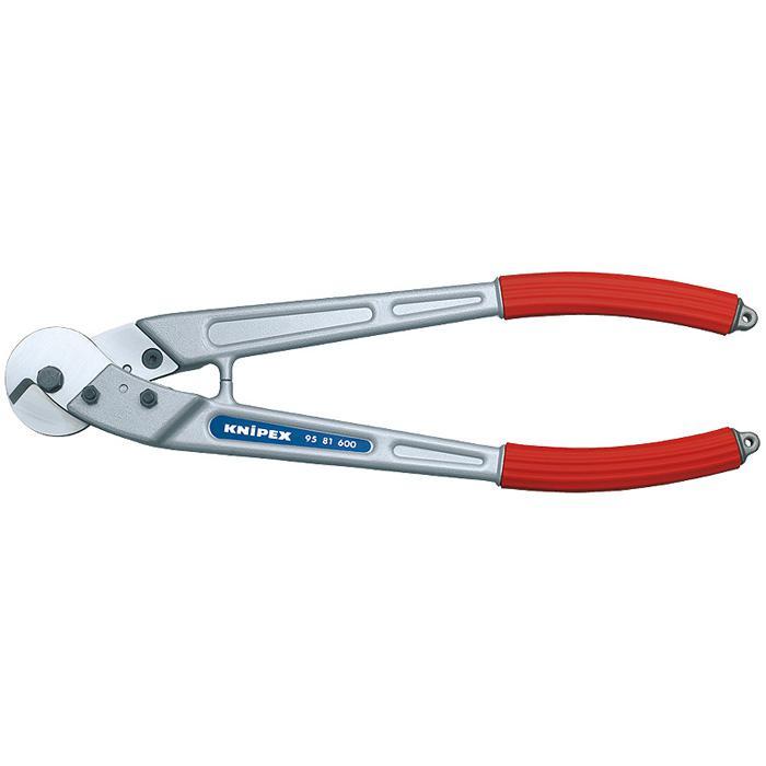 Drahtseil- und Kabelschere - poliert - Messerkopf Spezial-Werkzeugstahl
