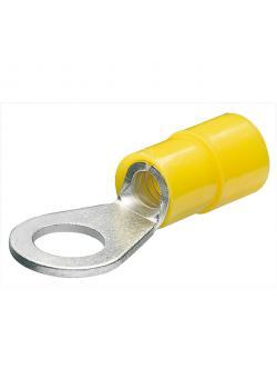 Kabelschuhe - Ringform isoliert - Schrauben-Ø 3-10 mm - VE 100/200  Stk.