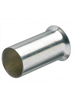 Aderendhülsen - unisoliert - Länge 6-12 mm