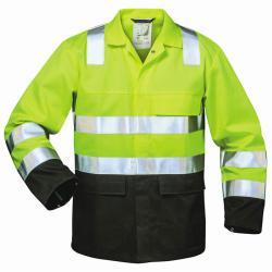 """colletto della giacca ad alta visibilità multi-standard """"Mark"""" - S-XXXL - giallo fluorescente / deposto nero"""