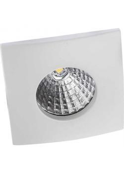 "LED-Möbel-Einbaustrahler ""Deluna-Möbel-Quadrat"" - Lichtstrom 260 lm - warmweiß 830 - 4,2 W"