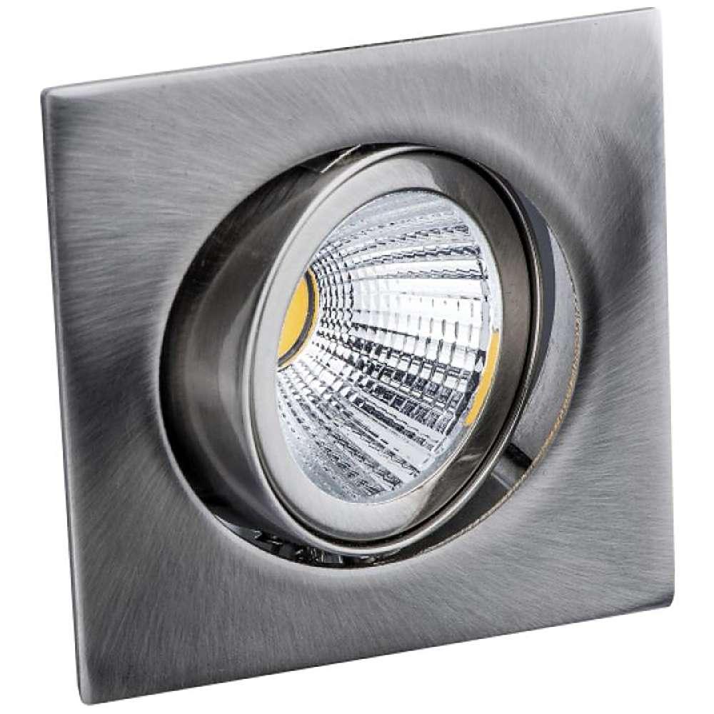 "LED Einbaustrahler ""Deluna"" - Quadrat-LED - schwenkbar - 8 W"