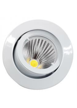 """LED Einbaustrahler """"Deluna"""" - schwenkbar - 10 W - rund"""