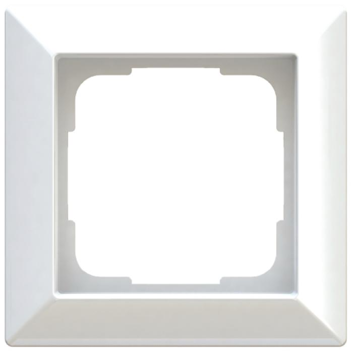 Cover Inform - colors polar white / anthracite / aluminum silver - frame width 82 mm - IP 20