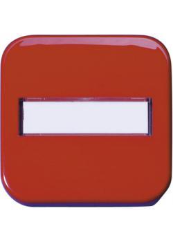 Flächenwippe - mit Beschriftungsfeld - Wippenmaß 58,6 x 58,6 mm