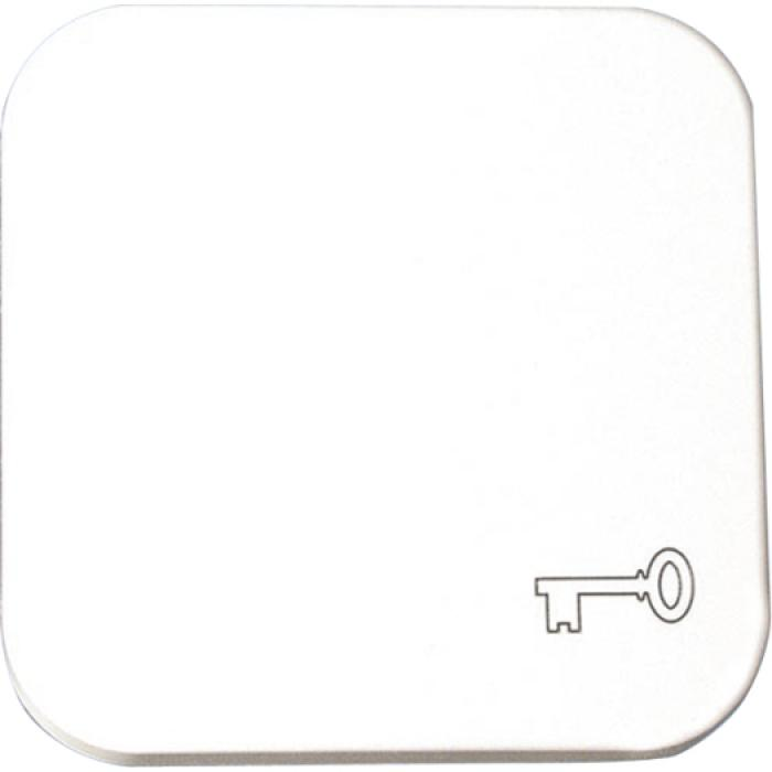 Rocker pad - color white - symbol bell/ keys / light