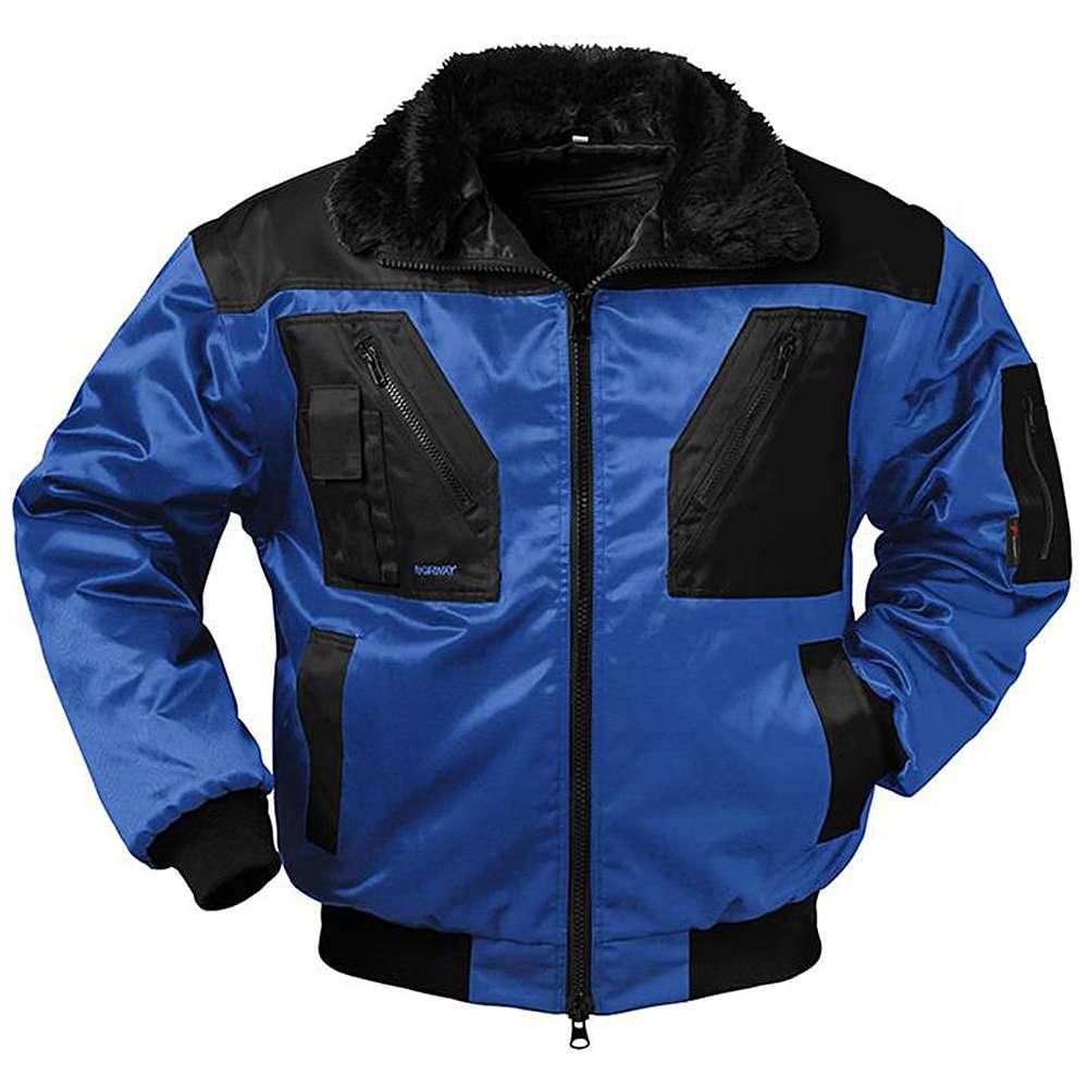 """Giacca Pilot """"Molde"""" - colore blu reale / nero - Taglie S-XXXXL - 4-in-1"""