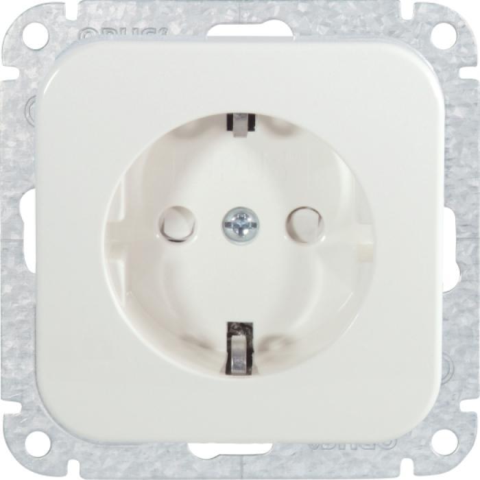 Schutzkontaktsteckdose - mit Kinderschutz - 250 V AC, 50 Hz, 16 A