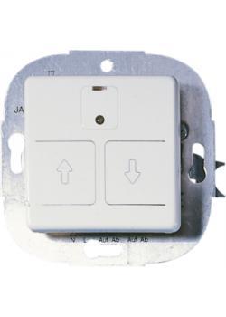 elektronischer Rollladenschalter Opus 1 - ohne Automatik - 230 V AC, 50 Hz, 750 VA