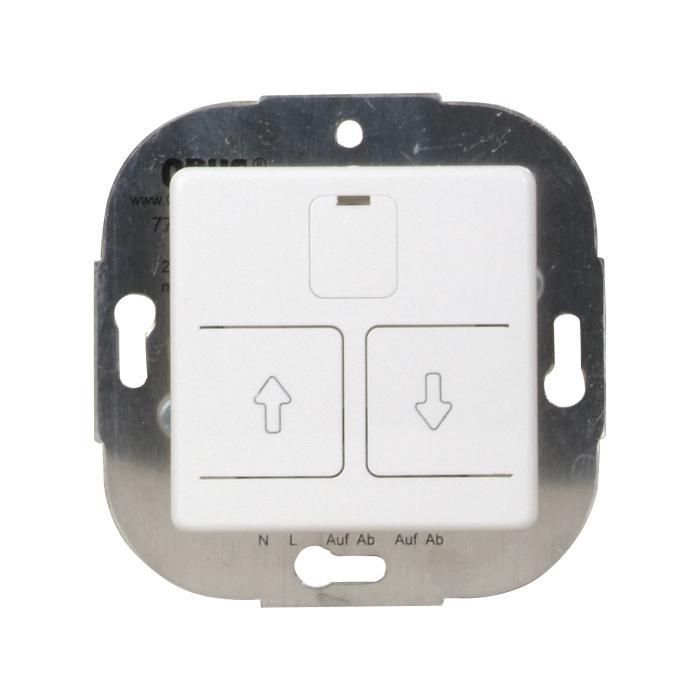 Electronic shutter switch Opus 55 - 230 V AC, 50 Hz, 750 VA