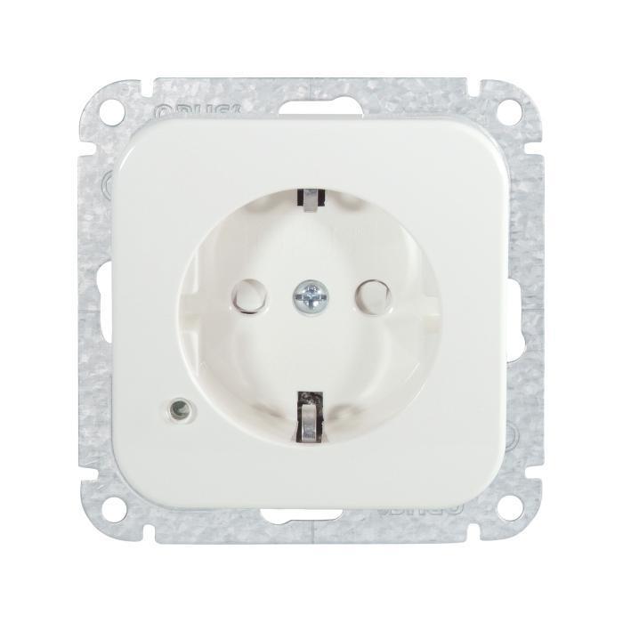 Schutzkontaktsteckdose Opus 1 - mit Überspannungsschutz