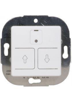 Elektronischer Rolladen-/Jalousieschalter Opus 55 - mit Wochenautomatik