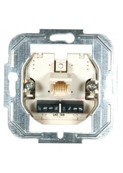 UP modułowa skrzynka przyłączeniowa 1-krotnie - 8/8-pin pojedynczej dawki