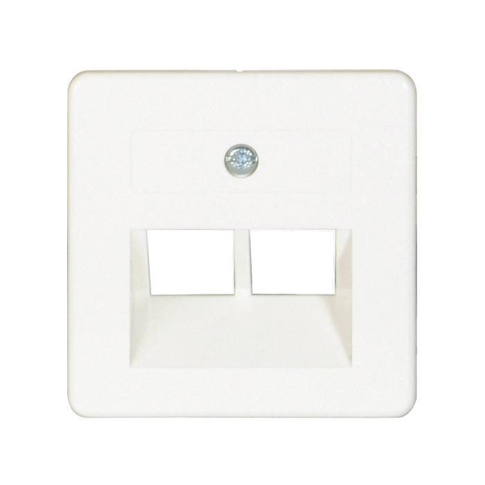 Cover Opus 55 - for Modular Outlets 2-fold