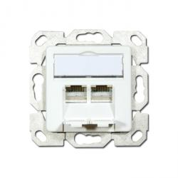 "Data-socket Opus® 55 - AMJ 45 ""CAT5e"" - polar white color"
