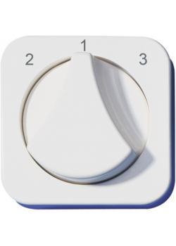 Abdeckung Opus® 1 - für 3 Stufen-Drehschalter - Bedruckung 2 / 1 / 3