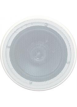Feuchtraum-Deckenlautsprecher - 2-Wege - Farbe weiß - Außen-Ø 196 mm