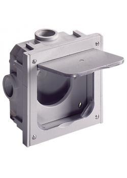 Universal-Leergehäuse - 112 x 112 x 33 / 60 mm - für Standard-Steckdosen