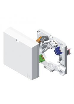 Herdanschlußdose - 400 V - 80 x 80 x 24 mm - für Aufputz/Unterputz