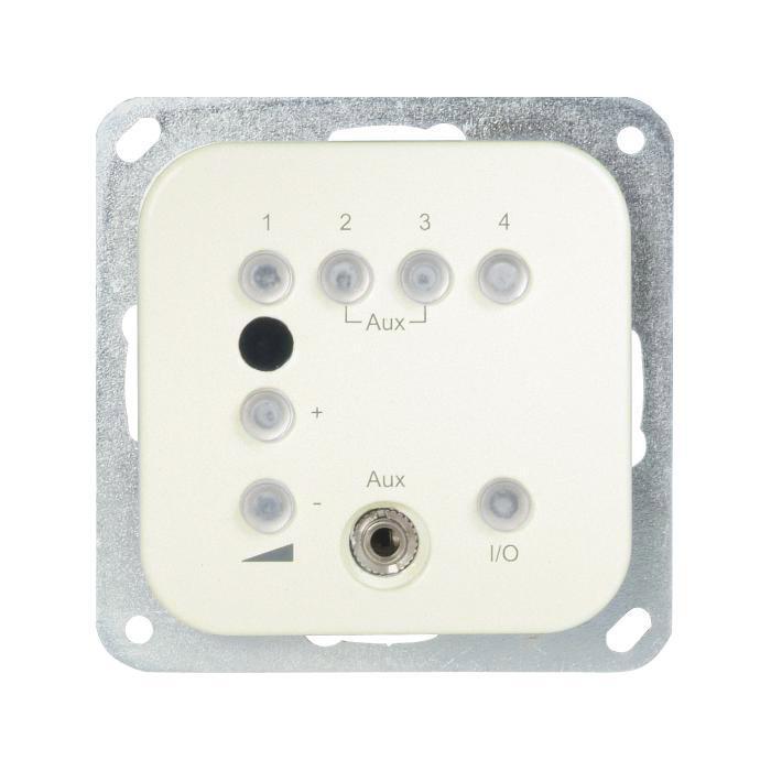 UP-Radio Opus® 1 - Einbautiefe 34 mm - AUX-Eingang - 230 VAC / 50 Hz