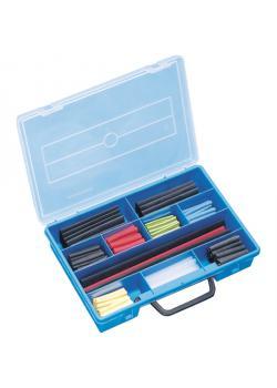 Plastic tubing assortimento caso termoretraibile - 222 pezzi
