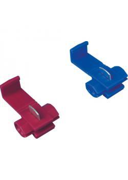 Connecteur rapide - 100 pièces -. Polypropylène - longueur 20 mm