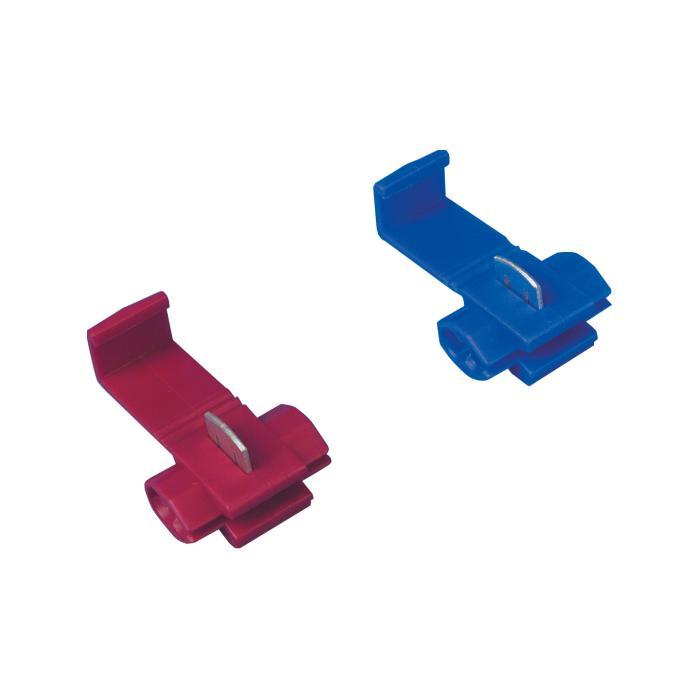 Schnellverbinder - 100 Stk. - Polypropylen - Länge 20 mm