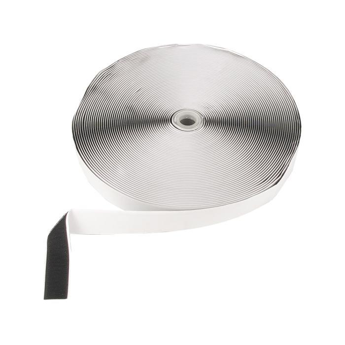 Klettband - selbstklebend - Zugfestigkeit 300 N - 25 m - Farbe schwarz