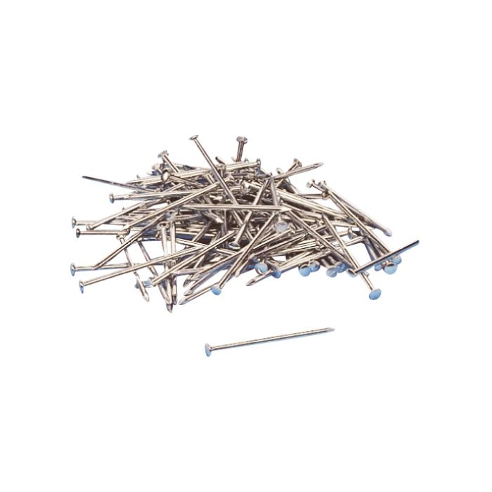 Stahl-Nagel - galvanisch verzinkt - Ø 2 mm - Länge 23-40 mm - Preis per VE