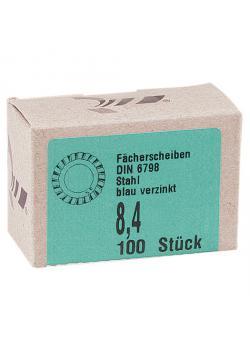 Fächerscheibe - außen gezahnt - DIN 6798, Form A - VE 100 Stück