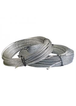 Stahldrahtseil - 50 m-Rolle - nach DIN 3055