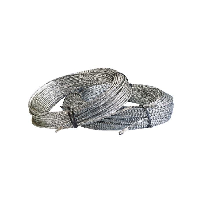 Steel wire rope - 50 m role - according to DIN 3055