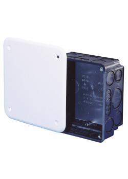 Unterputz-Abzweigkasten - mit Deckel - optional zur Stromkreistrennung