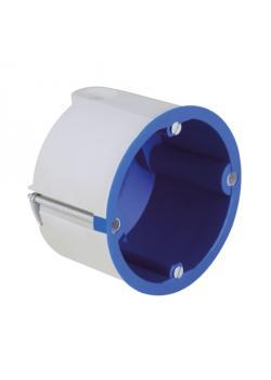 Hohlwanddose für Schallschutzwände - Fräsloch Ø 74 mm - 10 Stück