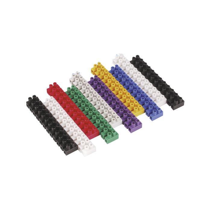 Luster terminaler - blandade färger - märkspänning 450 V - 10 st
