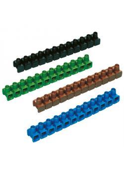 Dosenklemmen - 12-polig - farbig sortiert - 10 Stück - Nennspannung 400 V