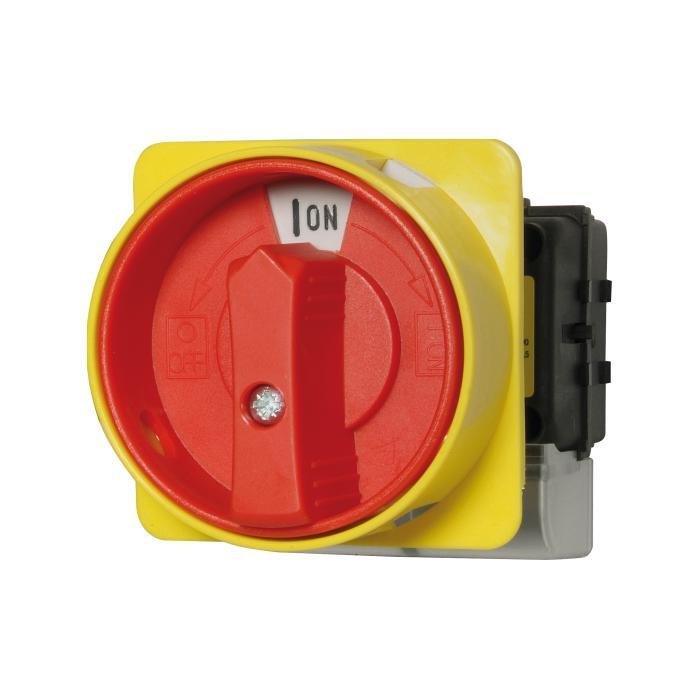 Haupt-Not-Aus-Schalter - 3-polig - für Hutschienenmontage - 400 V - 3 Schließer