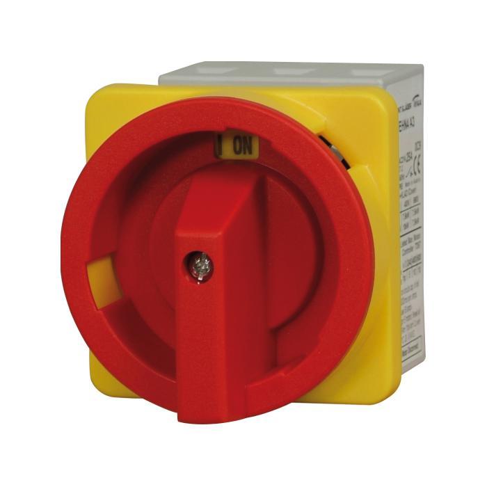 Not-Aus-Schalter - für Fronteinbau - 3-polig - Spannung AC21 690 V, AC23 3 x 400 V