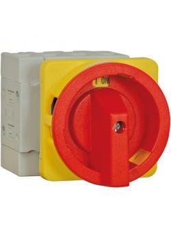 Not-Aus-Schalter für Fronteinbau - 4-polig - Spannung AC21 690 V, AC23 3 x 400 V