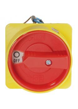 Haupt-Not-Aus-Schalter - mit Unterspannungsauslösung - 3-polig - 400 V