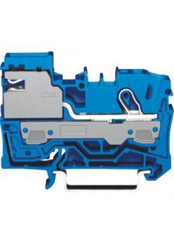 1-Leiter N-Trennklemme - 250 V / 4 kV / 3 - Farbe blau