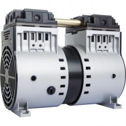 Ölfreie Vakuum-Kolbenpumpe PI-90V/HV - PLATIN-LINE - max. Vakuum 80 bis 27 mbar - Ansaugleistung 58 bis 81 l/min.
