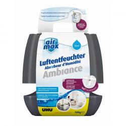 UHU Air Max Luftentfeuchter Ambiance large - Farbe anthrazit - bis 40m³ - Wirkung 2-3 Monate