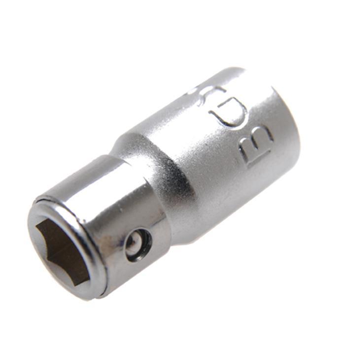 Adapter mit Haltekugel - für 1/4 mm Bits - Chrom-Vanadium-Stahl