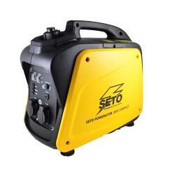 SETO POWERATOR 1800 Compact 2.0 - Volllastverbrauch bei nur 0.9l/h Benzin - 2 x 230 V/12V Steckdose - Gewicht 20 kg