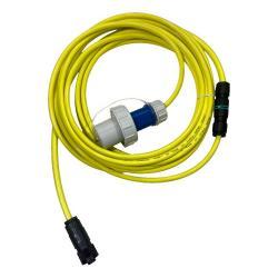 ALDEBARAN® XLD-C Zuleitung BASIC - Länge 8 m - Stecker Schuko 16 A / 250 V IP68