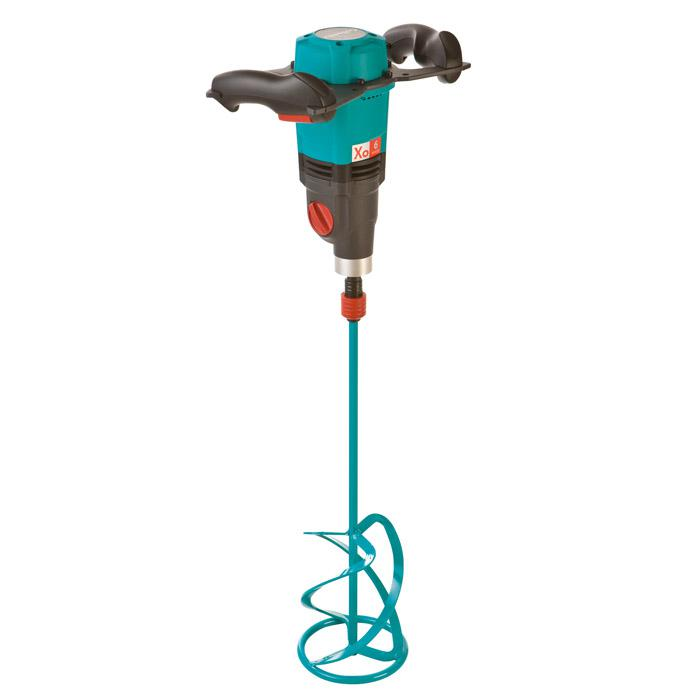 """Hand mixer """"Xo 6"""" - for mixing quantity up to 90 liters - 230 V / 50 - 60 Hz - Power 1600 W / 7.0 A - 2 courses"""