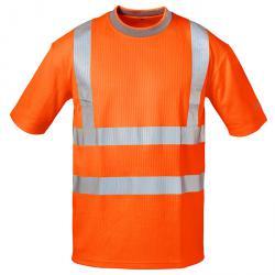 "Varsel T-Shirt ""PEPE"" - färg fluorescerande orange - Gr. S-XXXL"